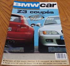 BMW Car 1998 - BMW Z3 M Coupe 3.2 vs Z3 Coupe 2.8  Hartge 3.5v 323ti E36 Compact