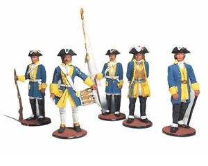 Exclusive soldiers set Swedish army Karl XII (12) handmade painted