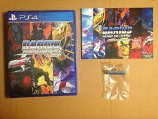 "Darius Cozmic Collection Arcade (7 jeux) + pin's ""DARIUS""- PS4-NEUF SOUS BLISTER"