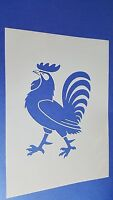 Schablonen 269 Hahn Wand Stencil Vintage Stanzschablonen Flex-Schablone Tattoos