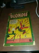 BLONDIE COMICS #39 harvey 1950 CHIC YOUNG Electrocution cover golden age classic