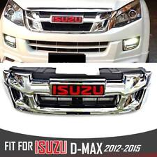 FRONT CHROME GRILL GRILLE ISUZU X SERIES DMAX HOLDEN RODEO D-MAX 2012-2015