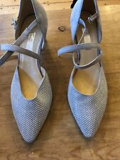 BOXED GABOR LADIES SUEDE SHOES FREDERICA STONE SIZE 7