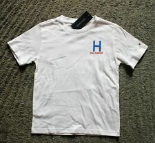 Tommy Hilfiger Boys White T-Shirt - Size 6 - NWT