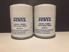 Volvo Penta Oil Filters 861473 Set Of 2 New Old Stock