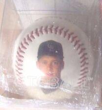 1993 Colorado Rockies David Nied photo 1992 stats baseball ball