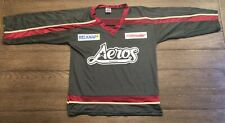 AHL Houston Aeros Youth Size XL Green Mesh Promo SGA Hockey Jersey