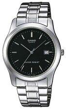 Casio MTP1141A-1A Men's Standard Analog Stainless Steel Black Dial Dress Watch