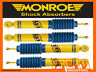 HOLDEN RODEO RA 4WD 03-08 F & R MONROE GAS MAGNUM SHOCK ABSORBERS