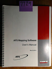 Case AFS Mapping Software User Owner's Operator's Manual Rac 9-27671 5/96