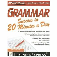 Grammar Success in 20 Minutes a Day by LearningExpress, LLC