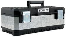 """STANLEY Werkzeugbox 20""""METALL-KUNST.METALLBOX 49,7x29,3x22,2 cm galvanisiert"""
