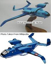 Macross VC-33 Glamor VC33 Aircraft Wood Model Regular