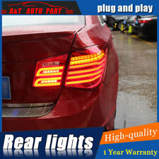 LED Rear Lights Assembly For Chevrolet Cruze 2011-2015 Dark / Red LED Tail Lamps