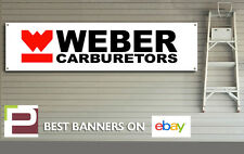 Weber Carburetors Banner, Retro for Workshop,Garage, Man Cave, Motorsport, Ford