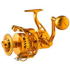 CNC Machined Full Metal Large Saltwater Spinning Fishing Reel 77lb Drag 7000Size