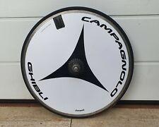 "rear disc wheel 28"" CAMPAGNOLO GHIBLI italian chrono TT bike RECORD"