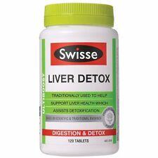 SWISSE ULTIBOOST LIVER DETOX 120 TABLETS FOR LIVER HEALTH SUPPORT INDIGESTION
