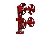 """12"""" RED Heavy-Duty SWIVEL-BASE Double Welding Lead Reel"""