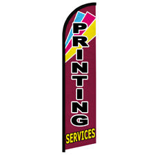 Printing Services Windless Swooper Advertising Feather Flag Print Shop
