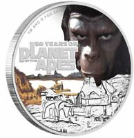 2018 PLANET OF THE APES 1oz Silver Proof Coin