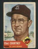 1953 Topps #127 Clint Courtney VGEX RC Rookie DP 80218