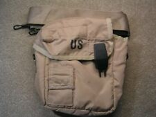 Usgi 2 Quart Water Canteen Cover Collapsible w/Sling & Clips Tan No Canteen