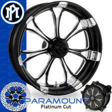 Performance Machine Paramount Platinum Cut Front Wheel Package Harley Touring PM