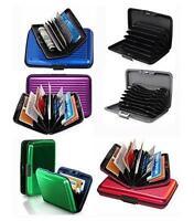 Waterproof Business ID Credit Card Wallet Holder Aluminum Metal Pocket Case Box