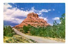 Bell Rock Yavapai Arizona Postcard Lower Oak Creek Canyon Formation Vintage