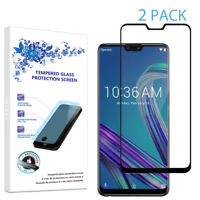 2X For Asus Zenfone Max Pro M2 ZB631KL Full Cover Screen Protector