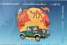 ourson décoration murale chambre d enfant bleu poster affiche voyage à encadrer