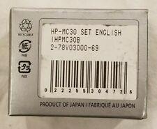 "Shimano STX Headset HP-MC30 1"" Threaded English Chrome Old Mid School BMX NOS"