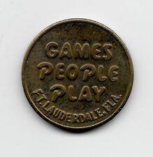 Tokens - Games People Play Ft. Lauderdale FL Token