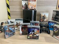 PS3 Fat 15 games, 2 Official Controllers, New Hdmi Lead Huge Bundle 80gb