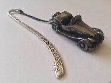MG TF ref141 FULL CAR on a Pattern bookmark with cord