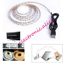 DC 5V USB LED strip 3528 60led/m Flexible Light Lamps Light TV Background 0.5-5M