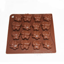 Cute Elephant Dumbo Chocolate Candy Soap Jello Silicone Mold Baby Shower Favors