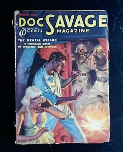 Doc Savage Pulp Magazine 3/ 1937