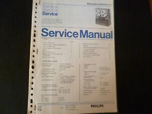 Original Service Manual Schaltplan Philips  N 4504