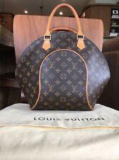 Louis Vuitton Ellipse Monogram Bag, Top Handle, Tote, Vintage