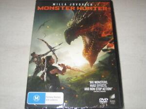 MONSTER HUNTER DVD R4 NEW/SEALED