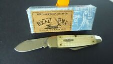 Case 1999 Knife White Bone Handle Two Blade New.