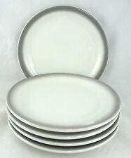 """Shenango Restaurant Ware Grey Air Brush Plate 6 3/8"""" Gray Airbrush (Set of 5)"""