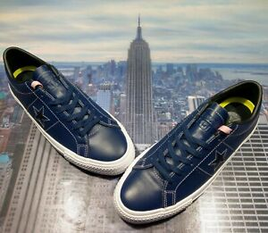Converse x Sean Pablo One Star Skate Ox Low Top Navy Mens Size 9.5 149869c New