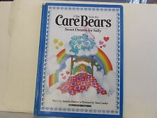 Care Bears Sweet Dreams for Sally By Amelia Hubert Illustrated Hardcover 1983