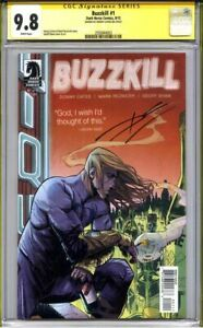 BUZZKILL #1 CGC 9.8 SS DONNY CATES (1st print) early Cates low print run top s/s