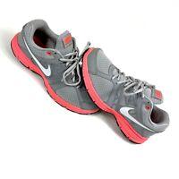 Nike Air Relentless 2 Women's Running Shoes Sz 9.5 Wolf Gray - Pink