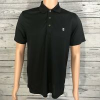 IZOD Men's Black Golf Shirt Size Medium - Excellent Condition!
