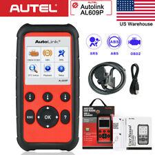 Autel AutoLink AL609P OBD2 Diagnostic Scan Tool Code Reader ABS SRS Airbag AL619